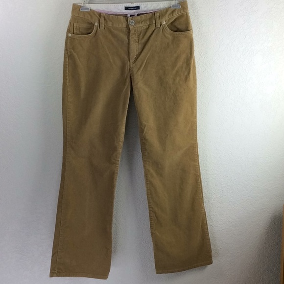 89e186a32f5 Lands  End Pants - Lands End Bootcut Tan Corduroy Pants